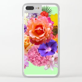 Florals Clear iPhone Case