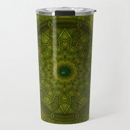 Positive thoughts - Jewel Mandala Travel Mug