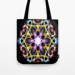 Digital Mandala Tote Bag
