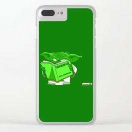 jedi master Clear iPhone Case