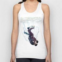 underwater Tank Tops featuring Underwater by MGNemesi