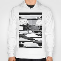 glitch Hoodies featuring Glitch by poindexterity