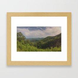 Big Ridge Overlook - NC Framed Art Print