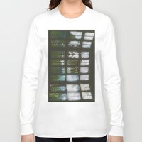 window Long Sleeve T-shirts featuring Window by Aaron Carberry