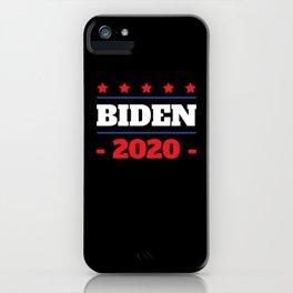 Star Democrat Joe Biden 2020 Campaign iPhone Case