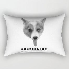 Corgi Meme Rectangular Pillow
