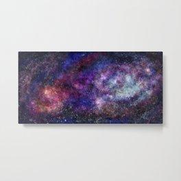 Space Galaxy Universe Metal Print