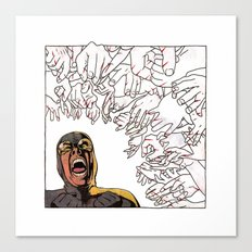 Ability to inflict papercuts with mind Canvas Print
