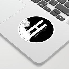 Hypertrophic Press Circular Logo Sticker