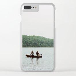 Walden Pond - 35mm Film Clear iPhone Case