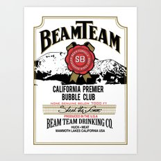 Beam Team Art Print