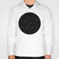 constellations Hoodies featuring Constellations by Rachel Buske