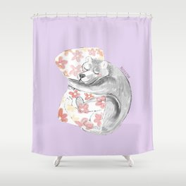 Would you be my sleepy bear? #3 Shower Curtain