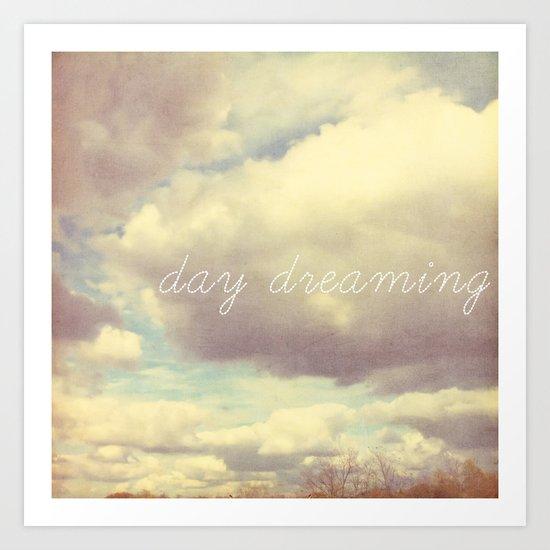 day dreaming Art Print