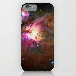Orion Nebula Deep Space Telescopic Photograph iPhone Case