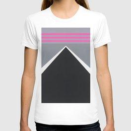 August - mirror pink T-shirt