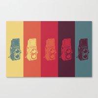 camera Canvas Prints featuring Camera. by Tuky Waingan