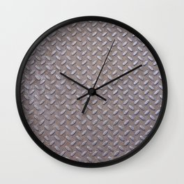 Texture #13 Metal. Wall Clock