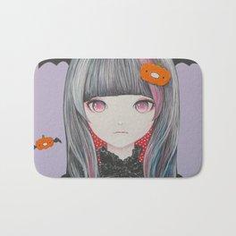 Pumpkin Nightmare Bath Mat