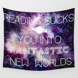Reading Sucks! Wall Tapestry