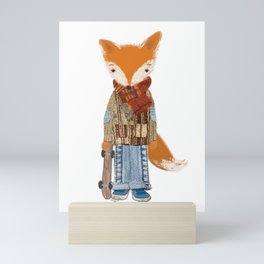 Fox Boy Mini Art Print