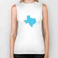 texas Biker Tanks featuring Texas by Hunter Ellenbarger