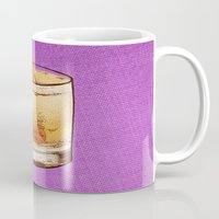 drink Mugs featuring DRINK  by MR VELA