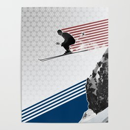 Fly by Snow Poster