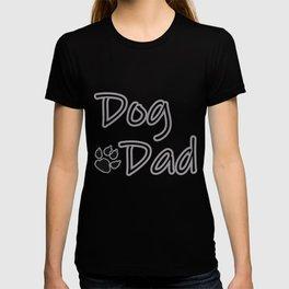 Dog Dad - Aqua T-shirt