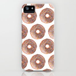 Donuts are my Love Language iPhone Case