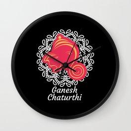Ganesh Chaturthi Lord Ganesha Wall Clock