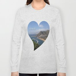 Tenerife Heart Long Sleeve T-shirt