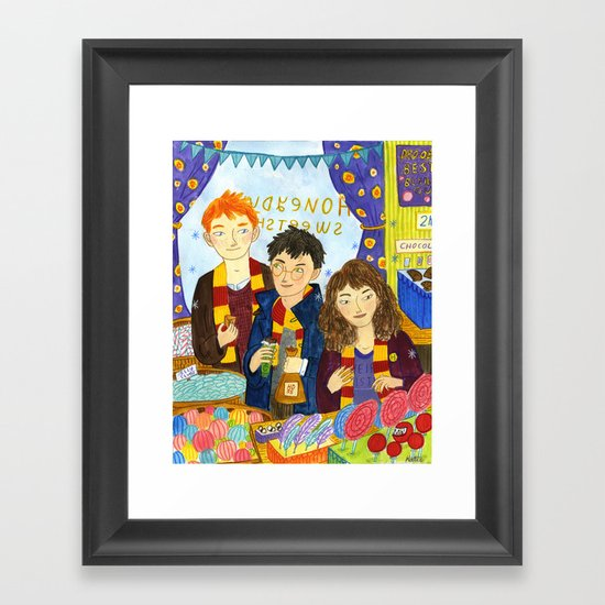 Honeyduke's Framed Art Print