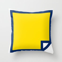 Lichtenswatch - Blonde Throw Pillow