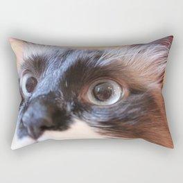 Wide Eyed Rectangular Pillow