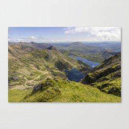 Snowdon Summit Canvas Print