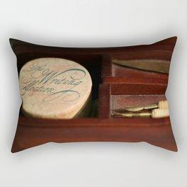 The Writing Desk 1 Rectangular Pillow