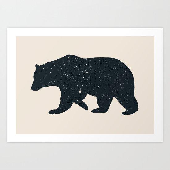 Bär Art Print