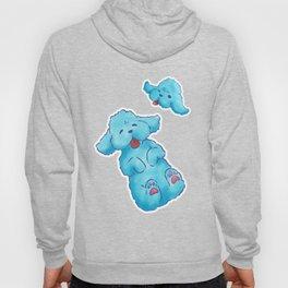 Blue Poodle Hoody