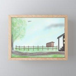 Homestead Framed Mini Art Print
