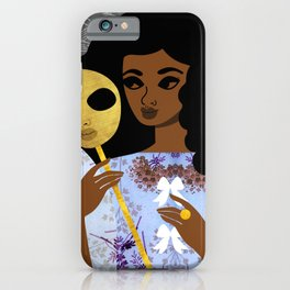 Mask Off iPhone Case