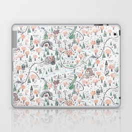 Enchanted Forest Map Laptop & iPad Skin