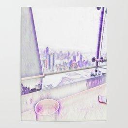 Water Breakfast in Hong Kong Poster