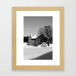 Snow Day (2) Framed Art Print