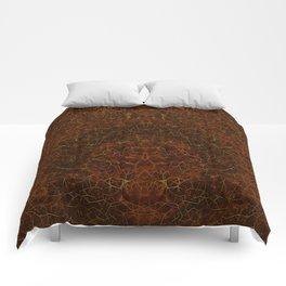 Azteca - Ancient Mexican Pattern II Comforters