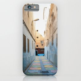 Maroccan Alleys. Fes, Marocco. Fine Art Travel Print. Colourful Wall Art. iPhone Case