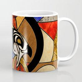 Egyptian Horus Geometric Abstract Coffee Mug
