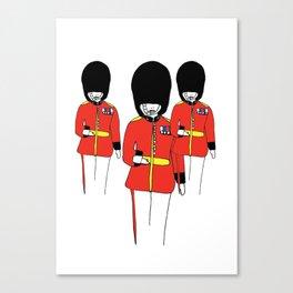 LDN Guards Canvas Print
