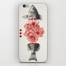 To Bloom Not Bleed iPhone Skin
