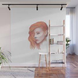 Fox Girl Wall Mural